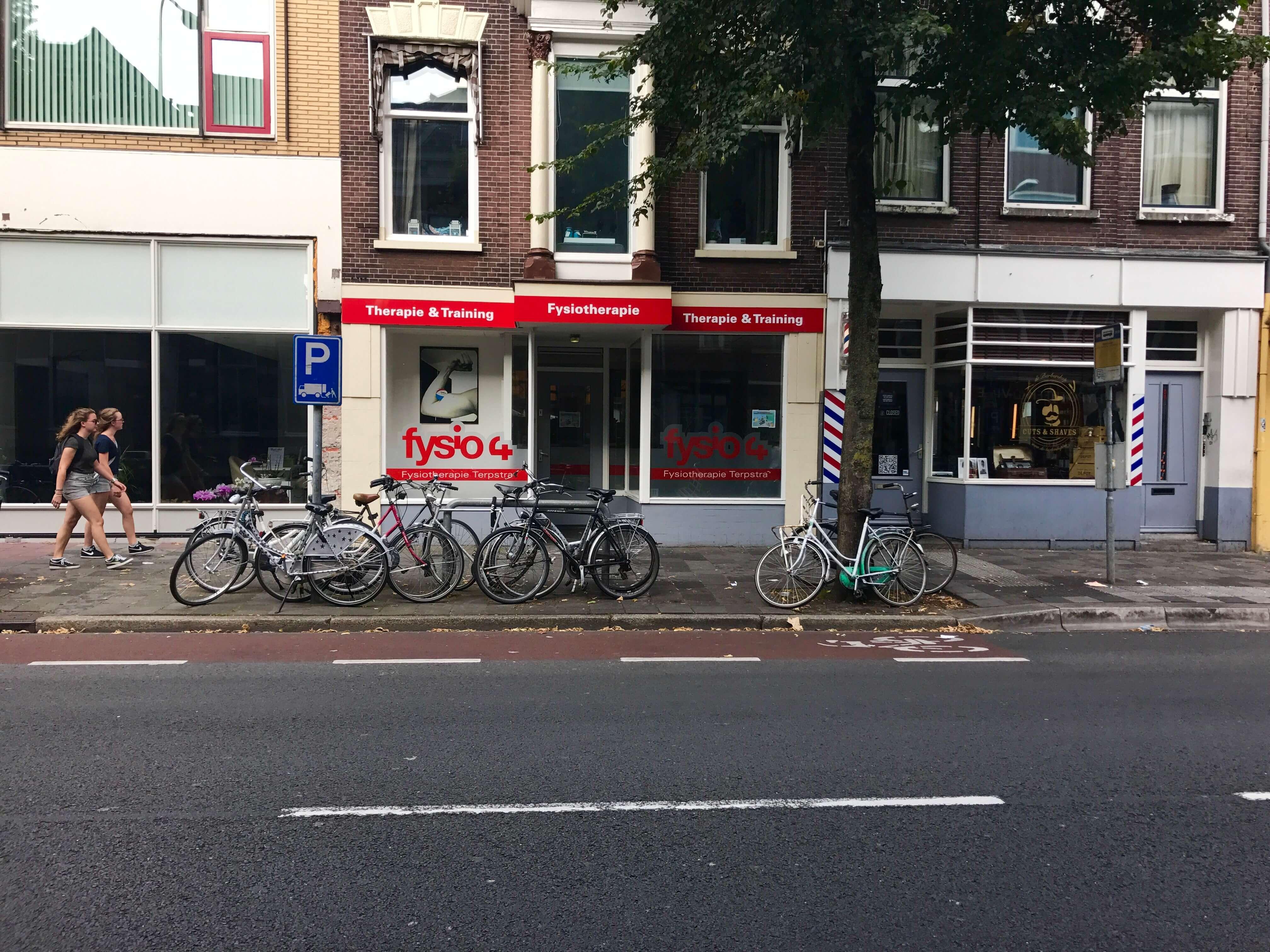 Fysio 4 Westersingel Groningen - buitenkant fysiopraktijk 5