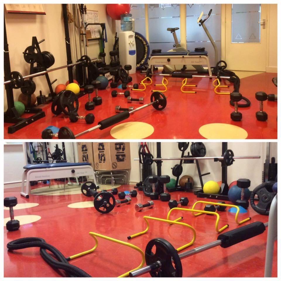 Fysio 4 Westersingel Groningen - oefenruimte fysiopraktijk