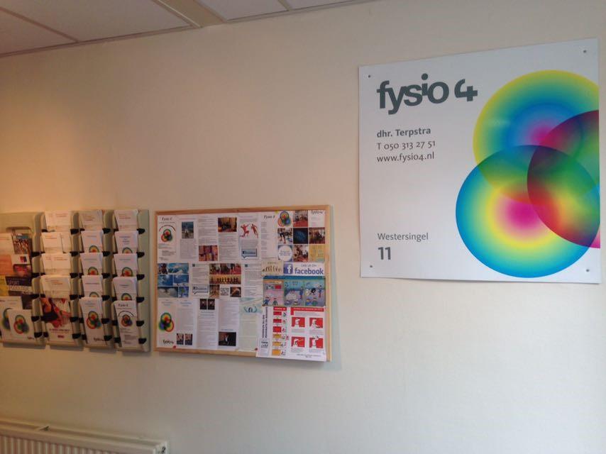 Fysio 4 Westersingel Groningen - wachtruimte fysiopraktijk 1